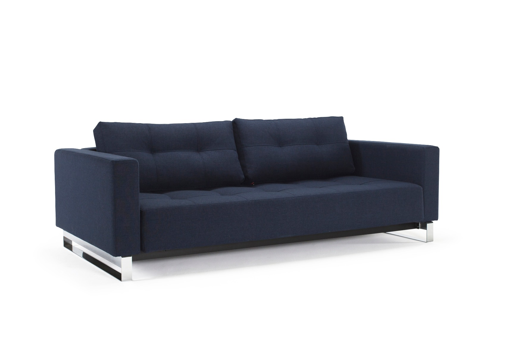 Cassius D.E. Lounger - Mixed Dance Blue Sovesofa 155x200