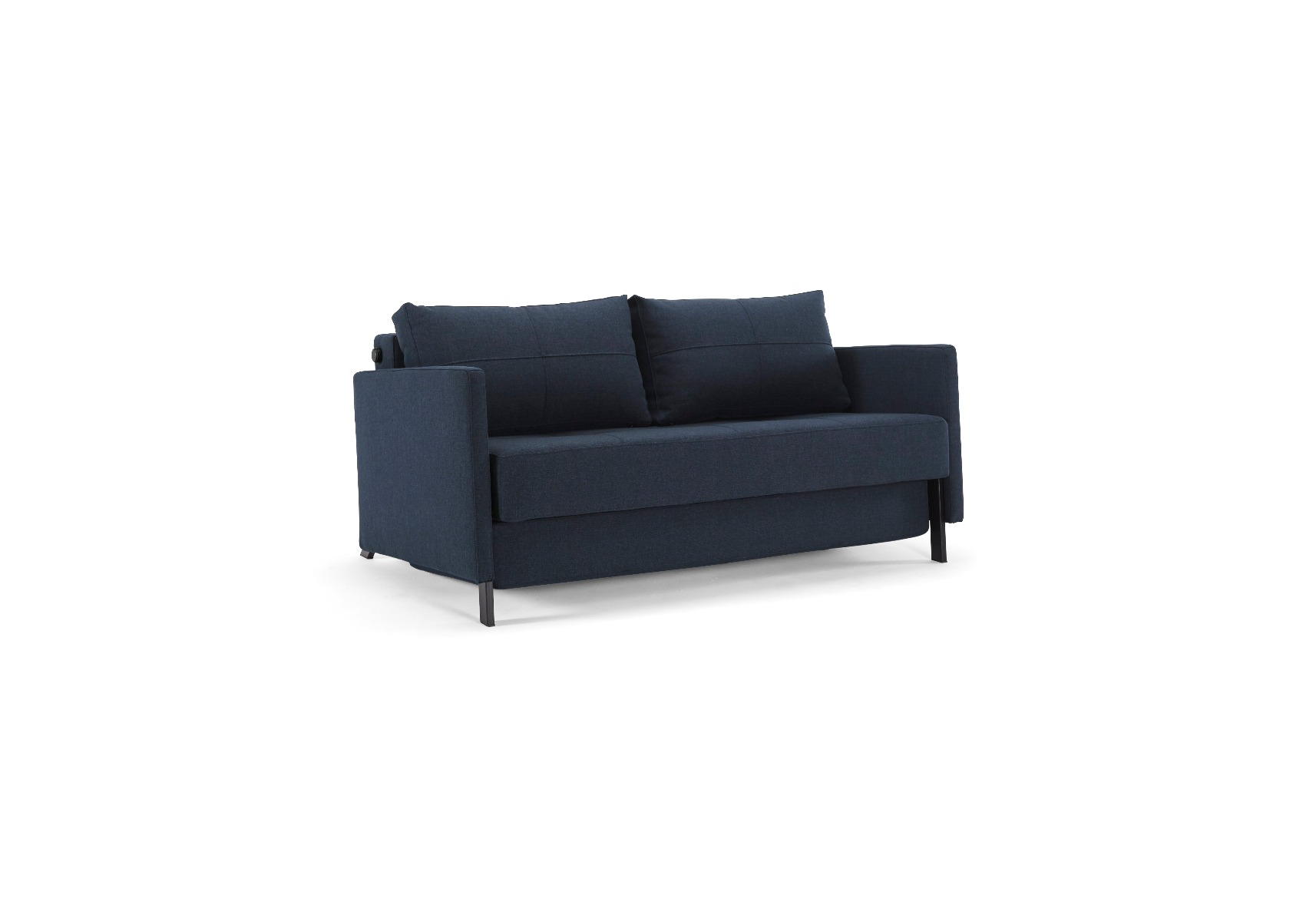 Cubed 140 Plus - Mixed Dance Blue Sovesofa 140x200