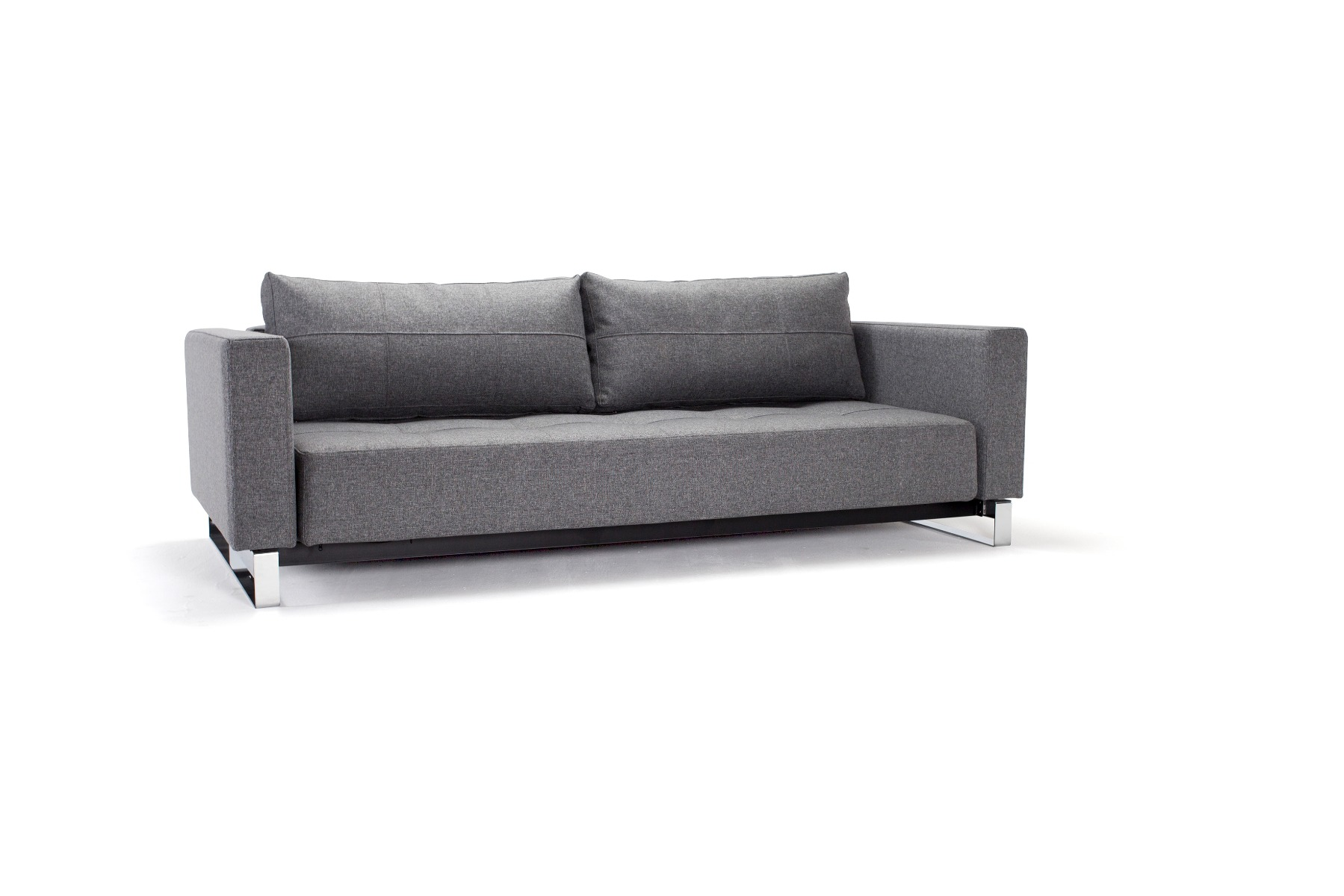 Cassius D.E. Lounger - Twist Charcoal Sovesofa