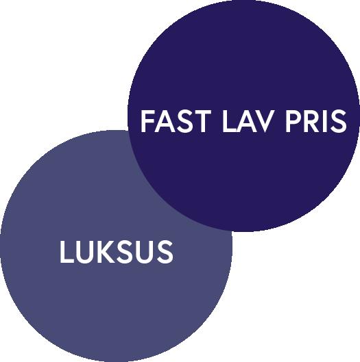 DK, NO - Fast Pris + Luksus