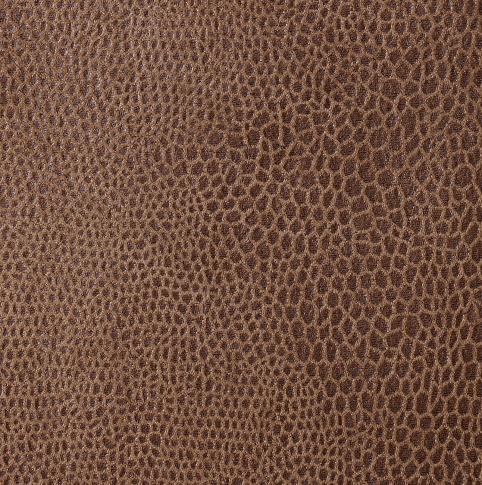Des: 551 Leather Look Brown Faunal